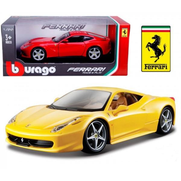 коллекционная автомодель Ferrari 458 Italia, Bburago