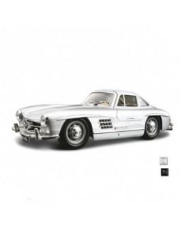 Автомодель - MERCEDES-BENZ 300 SL (1954) (ассорти красный, серебристый, 1:24)