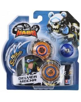 Волчок Infinity Nado Серия Стандарт Deliver Mecha с устройством запуска YW624306, Auldey