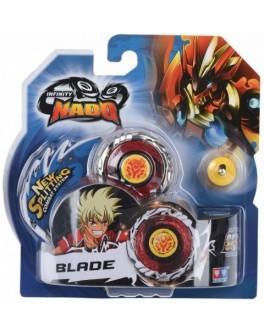 Волчок Infinity Nado Серия Стандарт Fiery Blade с устройством запуска YW624302, Auldey