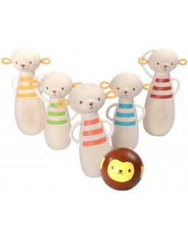 Деревянная игрушка Обезьянки-боулинг Plan Toys (5653) - plant 5653