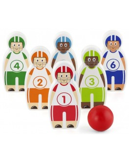 Деревянная игра Viga Toys Боулинг (50666) - afk 50666