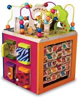 Деревянная игрушка Battat Зоо-куб (BX1004X)