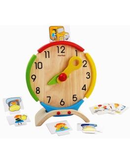 Деревянная игрушка Обучающие часы Plan Toys (5122) - plant 5122