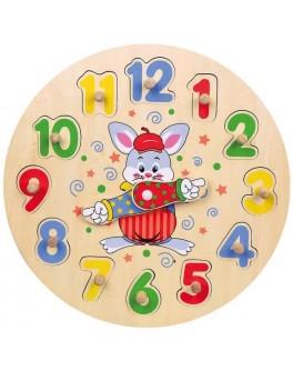 Деревянная игрушка Viga Toys Часы (56171VG)
