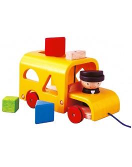Деревянная игрушка Автобус-сортер Plan Toys (5121)