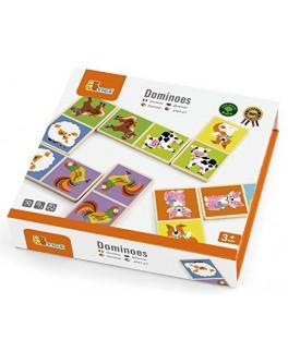 Іграшка з дерева Доміно Viga Toys Ферма 28 шт (51306) - afk 51306