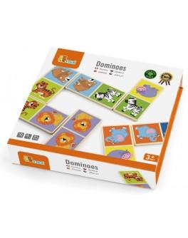 Іграшка з дерева Доміно Viga Toys Сафарі 28 шт (51307) - afk 51307