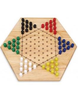 Деревянная игра Viga Toys Китайские шашки (56143) - afk 56143