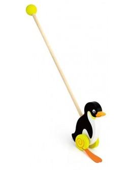 Деревянная каталка Viga Toys Пингвин (50962) - afk 50962