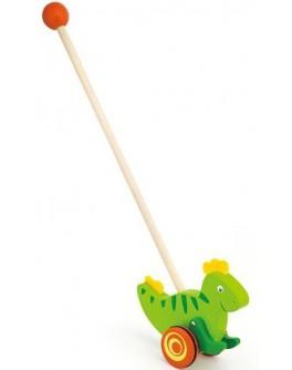 Деревянная каталка Viga Toys Динозавр (50963) - afk 50963