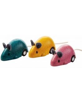 Деревянная игрушка Бегающая мышка Plan Toys (4611) - plant 4611