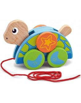 Деревянная игрушка-каталка Viga Toys Черепаха (50080) - afk 50080