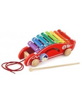 Деревянная игрушка-каталка Viga Toys Машинка (50341) - afk 50341
