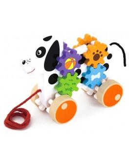 Деревянная игрушка-каталка Viga Toys Щенок (50977) - afk 50977