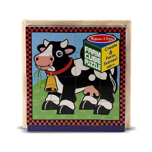 домашние животные кубики Ферма Melissa Doug MD775
