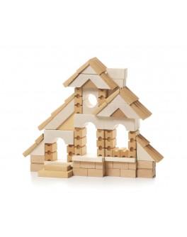 Дерев'яні кубики конструктор Будиночок Cubika - cub 11544