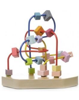 Деревянная игрушка Cubika Лабиринт треугольник (11582)