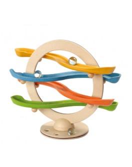 Деревянная игрушка Зигзаг с шарами щёлк-щёлк Plan Toys (5625) - plant 5625