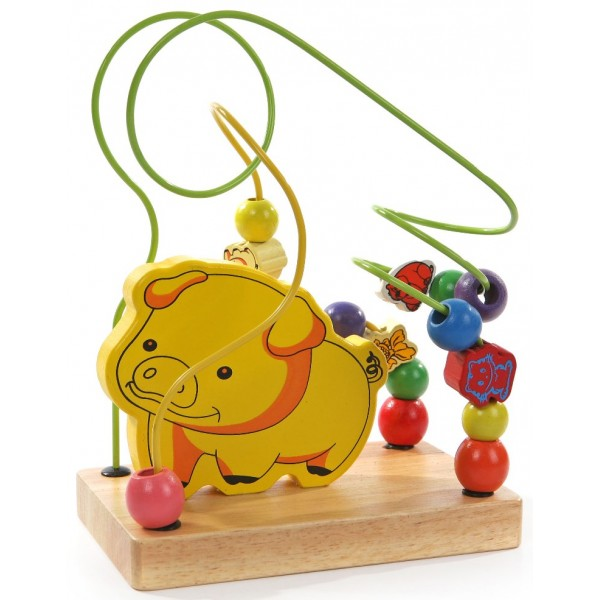 лабиринт из дерева Свинка, Мир деревянных игрушек