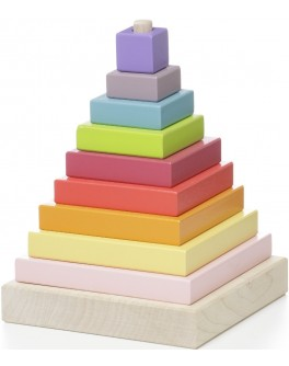 Дерев'яна іграшка Cubika Пірамідка LD-5 (12329) - cub 12329