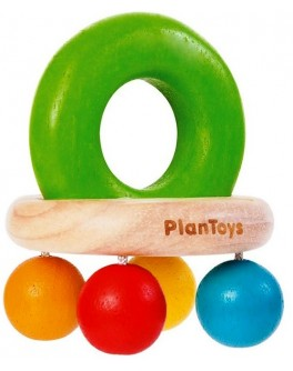 Деревянная игрушка Погремушка-Колокольчик (5213) PlanToys - plant 5213