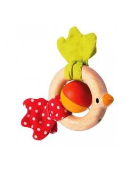 Деревянная игрушка Погремушка Птичка (5216) PlanToys - plant 5216