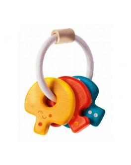 Деревянная игрушка Погремушка Ключи (5217) PlanToys - plant 5217
