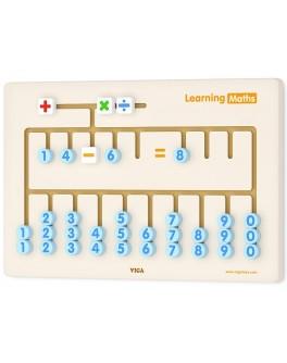Деревянная игрушка Viga Toys Арифметика (50675) - afk 50675