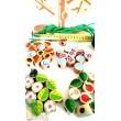 Деревянная шнуровка Дерево Времена года, Мди - Der 104