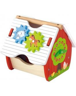 Деревянная игрушка Viga Toys Веселая ферма (50533) - afk 50533