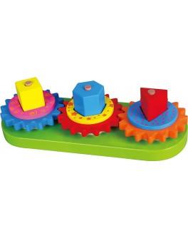 Деревянная игрушка Viga Toys Шестеренки (59611) - afk 59611