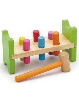 Деревянная игрушка Viga Toys Забей гвоздик (50827) - afk 50827