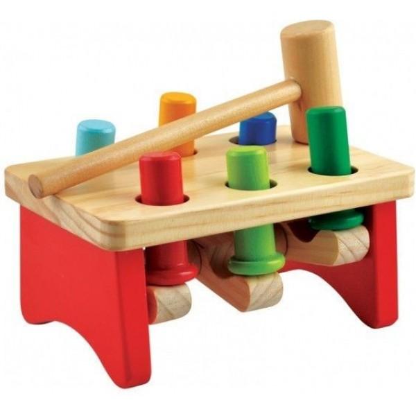 стучалка гвозди - перевертыши 2, Мир деревянных игрушек
