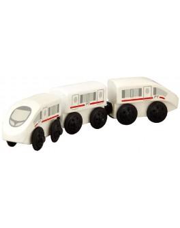 Деревянная игрушка Экспресс-поезд Plan Toys (6035) - plant 6035