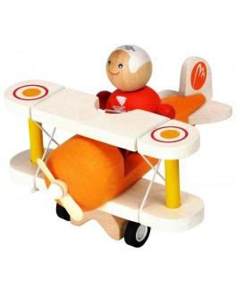Деревянная игрушка Классический самолёт Plan Toys (6030) - plant 6030