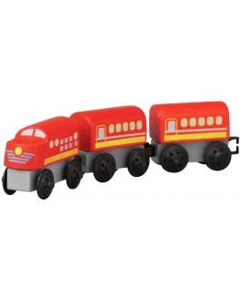 Деревянная игрушка Пригородный поезд Plan Toys (6034) - plant 6034