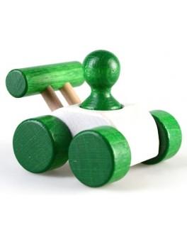 Деревянная игрушка мини Гоночная машина, ТАТО - tato КТ-008