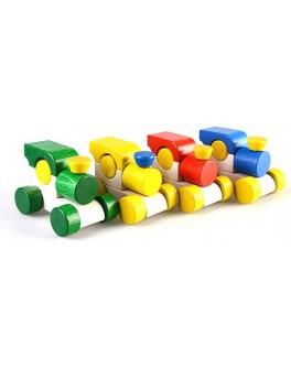 Деревянная игрушка мини Паровоз, ТАТО - tato КТ-002