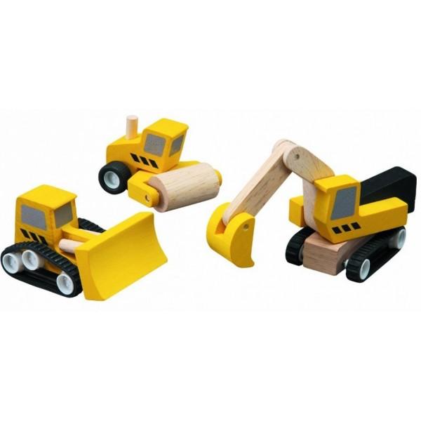 набор дорожно-строительной техники Plan Toys (6014)