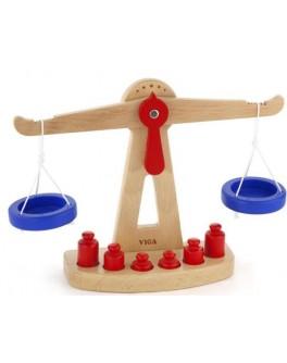 Терези дерев'яна іграшка Viga Toys (50660) - afk 50660