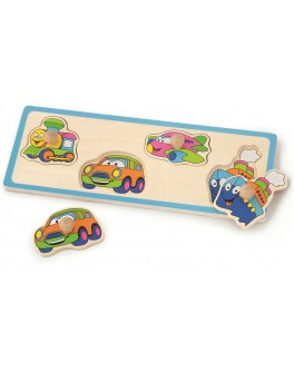 Деревянная игрушка пазл Viga Toys Транспорт (50112)