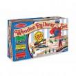 Деревянная игрушка Железная дорога 130 деталей, Melissa&Doug  - MD 701