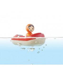 Деревянная игрушка для воды Катер береговой охраны Plan Toys (5668) - plant 5668