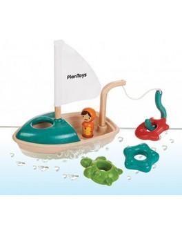 Деревянная игрушка для воды Лодка Plan Toys (5693) - plant 5693