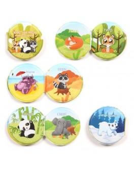 Тварини світу Панда - книжка-іграшка для ванної Shantou Toys (A563)