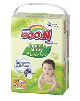 Трусики-подгузники Cheerful Baby для детей 7-12 кг (размер M, унисекс, 58 шт) - KDS 853144