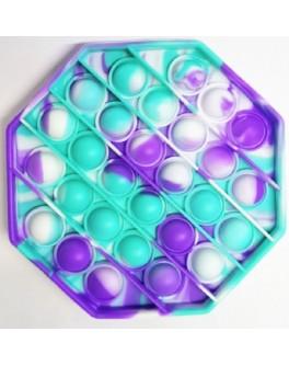 Іграшка антистрес пупирки Pop It Градієнт восьмикутник