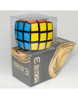 В-Куб 3х3 черный круглый. Кубик Рубика