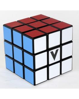 В-Куб 3х3 черный плоский. Кубик Рубика